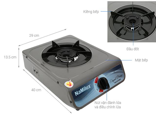 Thông số chung của bếp gas đơn NAMILUX NH-260AFM