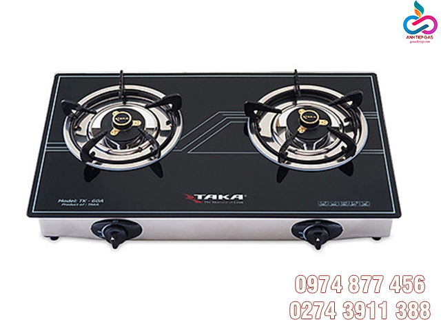 Bếp gas dương mặt kính Taka TK-60 giá rẻ