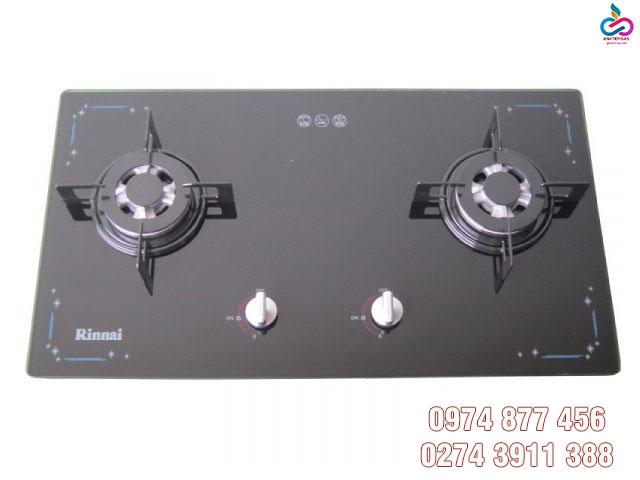 Bếp gas âm rinnai rvb-212bg với thiết kế hiện đại