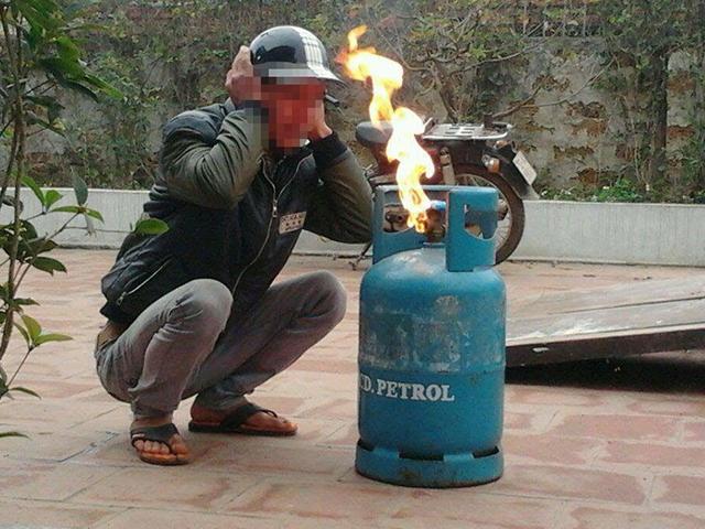 Bình gas cháy có gây nổ hay không?