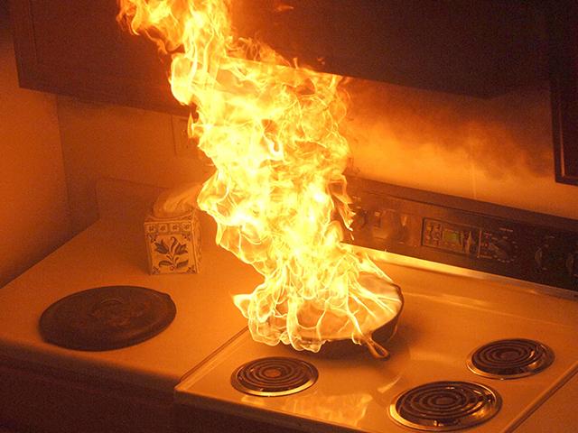 Nguyên nhân khiến bình gas bị cháy