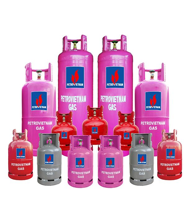 Một số loại gas PetroVietnam thông dụng hiện nay