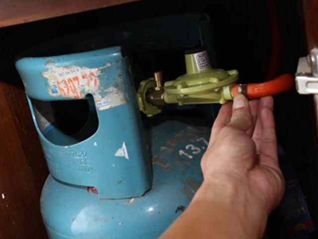Một vài lưu ý khi bố trí bình gas trong bếp