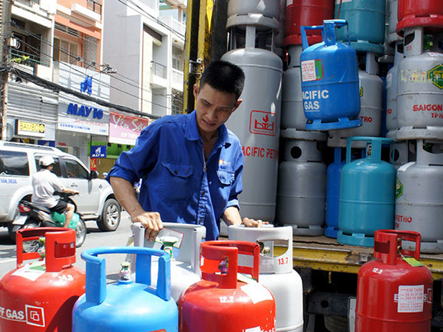 Sự thay đổi về giá cả của gas