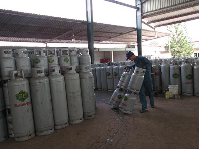 Tính hình giá gas biến động