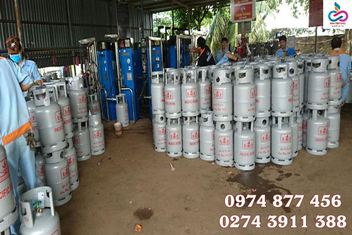Tình hình giá gas tháng 7/2021