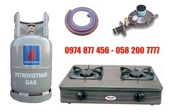 TRọn bộ bình bếp gas Rn360