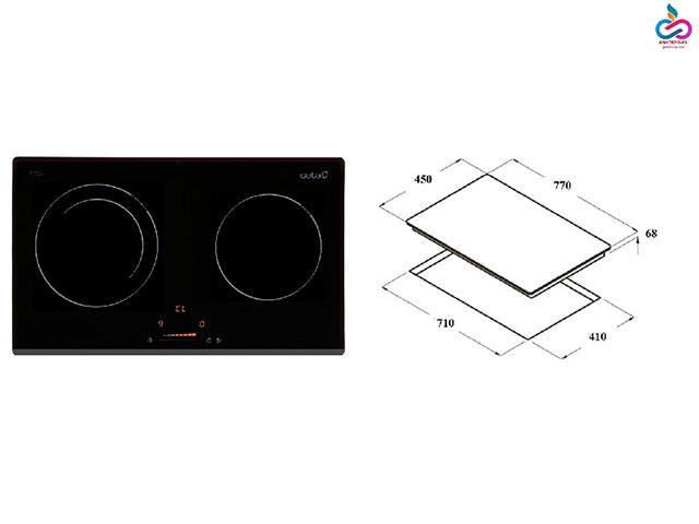 Một số kích thước thường gặp của bếp từ