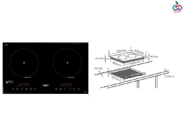 Kích thước của các loại bếp từ thường sử dụng