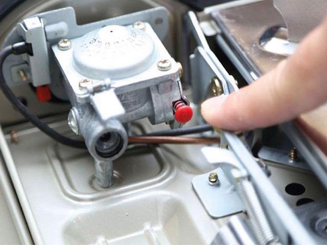 Khi van ngắt gas bị lỗi ổ bếp gas mini