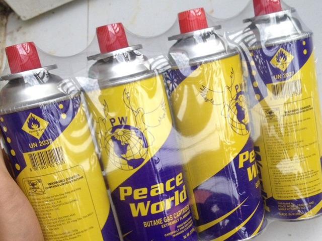 Đại lý phân phối gas peace world giá rẻ, uy tín, chất lượng