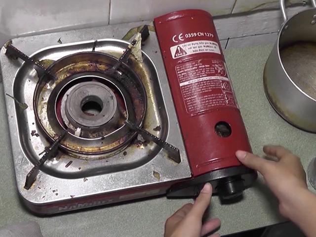 Không dùng bếp gas cũ