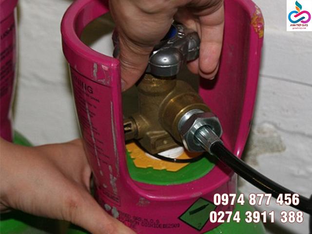 Không khóa gas sau khi sử dụng khiến gas thất thoát