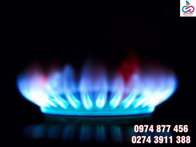 Màu sắc của ngọn lửa bếp gas
