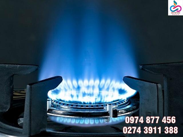 Ngọn lửa xanh của bếp gas